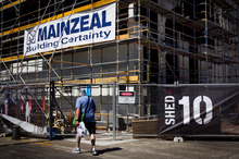 Mainzeal Property & Construction, one of New Zealand's biggest construction firms, has gone into receivership. Photo / Natalie Slade