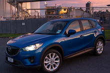 The new Mazda CX-5 has an impressive diesel engine. Photo / Ted Baghurst 