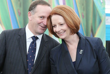 Australian Prime Minister Julia Gillard is in Queenstown this weekend for annual talks with Prime Minister John Key. Photo / Greg Bowker