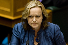 Justice Minister Judith Collins says New Zealand has an open government by international standards.  Photo / Mark Mitchell