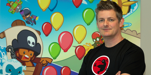 "Chris Harris, owner of Ninjakiwi, said his journey to success had been a ""wild ride"". Photo / NZH"