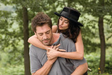Javier Bardem and Penelope Cruz in a scene from 'Vicky Cristina Barcelona'. Photo / Supplied