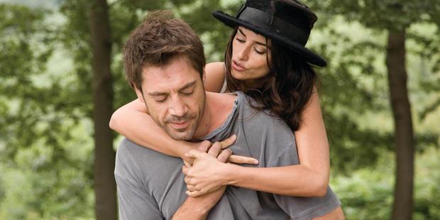 Javier Bardem and Penelope Cruz in a scene from 'Vicky Cristina Barcelona'. Photo / Supplied
