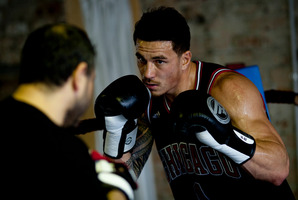 Sonny Bill Williams  says he feels ready under the tutelage of Mick Akkaway for his match against Francois Botha. Photo / Dean Purcell