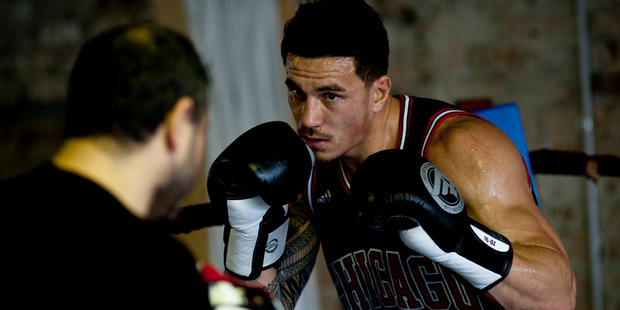 Sonny Bill Williams. Photo / Dean Purcell