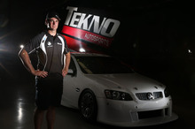 V8 Supercar star Shane Van Gisbergen, switched from Ford to Holden with Gold Coast-based Tekno Autosports.