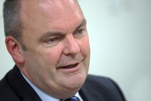 Novopay minister Steven Joyce. Photo / APN