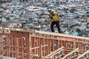 Construction pay rates rose 2.3 per cent. Photo / Mark Mitchell
