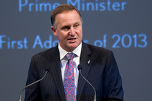 Prime Minister John Key said the Government would continue spending significant sums. Photo / Brett Phibbs