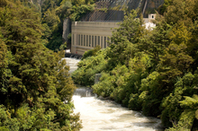 The Arapuni Dam has come up in relation to asset sales, but its use shouldn't be affected by who owns other sections of the Waikato River. Photo / Sarah Ivey