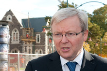 The spectre of Kevin Rudd is again stalking Gillard and the Government. Photo / NZPA
