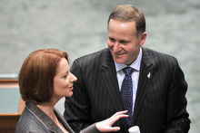 John Key and Julia Gillard are holding their annual talks in Queenstown this