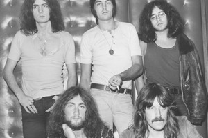 Back: Ritchie Blackmore (left), Roger Glover and Ian Paice. Front: Ian Gillan (left), John Lord. Photo / File