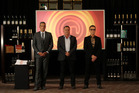 MasterChef judges (from left) Josh Emmett, Simon Gault and Ray McVinnie. Photo / Supplied