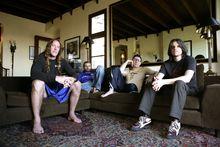 Danny Carey (left), Justin Chancellor, Maynard James Keenan and Adam Jones, Photo / Supplied