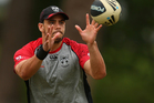 In the absence of usual captain Simon Mannering, prop Steve Rapira will lead the Warriors for their trial match this weekend. Photo / Getty Images.