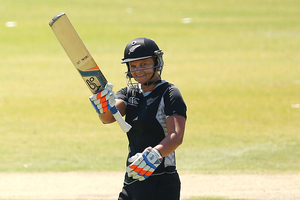 Suzie Bates top scored for New Zealand with 65 not out. Photo / Getty Images