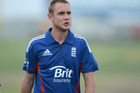 Stuart Broad. Photo / Getty Images