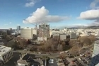 The Canterbury Earthquake Recovery Authority has released a video showing time-lapse photography of the Christchurch Central Business District taken between 1 February 2012 and 31 January 2013. Shot from the roof of HSBC Tower on Worcester Boulevard, the video depicts changes to the CBD landscape looking out towards Cathedral Square.