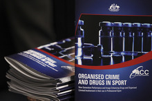 The Australian Government's report on organised crime and drugs in sport was released last week. Photo / Getty Images