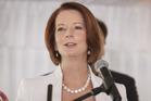 Australian Prime Minister Julia Gillard. Photo / Getty Images