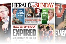 The Herald on Sunday will have a new look, new initiatives, and the same sassy attitude. Photo / APN
