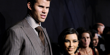 Kris Humphries and Kim Kardashian. Photo/AP