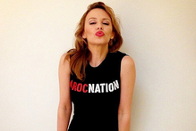 Kylie Minogue has announced her signing with Roc Nation.