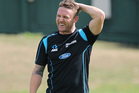 Black Caps captain Brendon McCullum during a New Zealand training session at Eden Park. Photo / Getty Images.