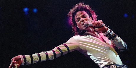 Michael Jackson performing in 1988. Photo/AP