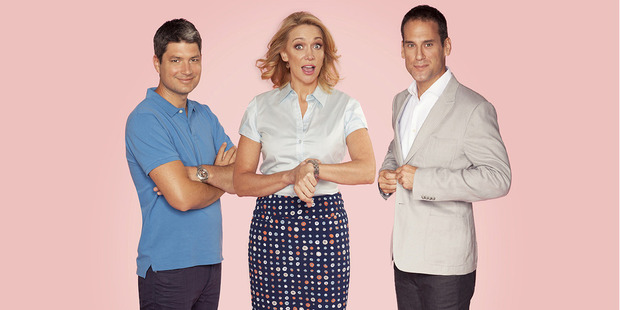 Jesse Mulligan, Alison Mau and Greg Boyed host Seven Sharp. Photo/supplied