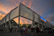 Skilled Park, the home of the Gold Coast Titans. Photo / Getty Images