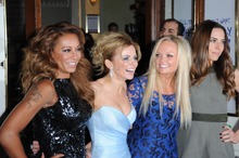 Spice Girls Melanie Brown, Geri Halliwell, Emma Bunton and Melanie Chisholm were at the launch of a new cocktail range they inspired.Photo / Getty
