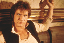 Harrison Ford as Han Solo. Photo/supplied