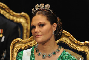 Crown Princess Victoria of Sweden has caused a stir after handing out the country's Gay of the Year award.Photo / Getty