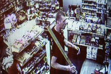 The offender was caught on the in-store cameras. Photo / Supplied