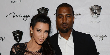 Kim Kardashian and Kanye West. Photo / Getty Images