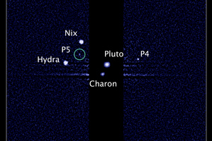 Three of Pluto's moons already have names relating to the ancient tales about Hades and the Underworld. Photo / NASA