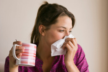 Whooping cough usually starts like a cold, with tiredness and sometimes a mild fever.  Photo / Thinkstock