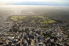 Christchurch's CBD has entered a rebuilding phase, the government announced today. Photo / Geoff Sloan