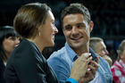 All Black Dan Carter and wife Honor are once again voted hottest couple, with 43 percent. Photo / NZH