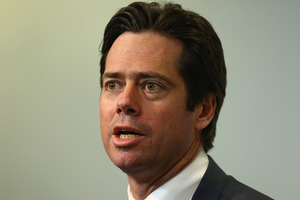 Gillon McLachlan. Photo / Getty Images