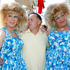 John Key mixes with the crowd.  Photo / Michael Craig