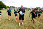 Gareth Williams has seen the transformative powers of similar sports programmes at work in British schools.  Photo / Christine Cornege
