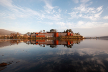 The spectacular Museum of Old and New Art (Mona) in Tasmania is dug down three massive floors into sandstone and rock. Photo / Supplied