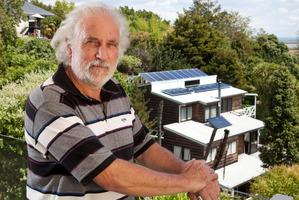 David Fallas will earn less from his solar power. Photo / John McCombe