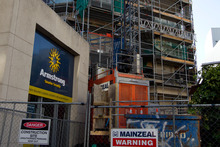 The financial standing of Mainzeal is still being assessed by the receivers. Photo / Brett Phibbs