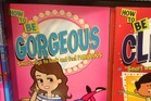 Everyday sexism spotted in the children's reading room at Harrods, London. Photo / Supplied
