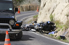 The German motorcyclists were travelling to Taupo when the accident occurred. Photo / Bevan Conley