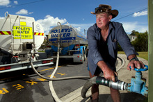 Brian Field of Foley's Water says demand for deliveries is at a seven-year high. Photo / Brett Phibbs